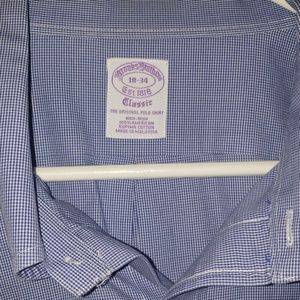 Brooks Brothers button down collar